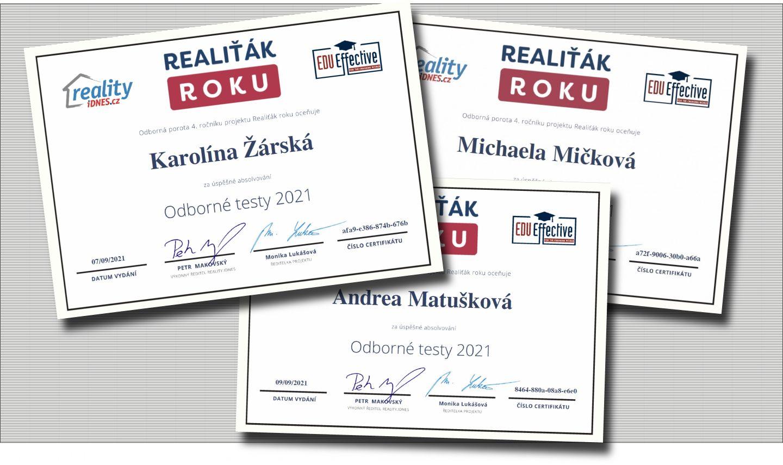 Nejlepší makléři Libereckého kraje jsou z realitní kanceláře  RELIA