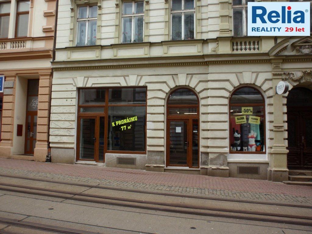 Pronájem, Obchodní prostory, 72 m2 - ul. 5. května, Liberec I