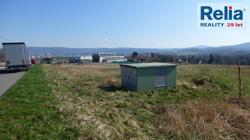 Komerční pozemek 15 285 m2 v průmyslové zóně JIH - Liberec