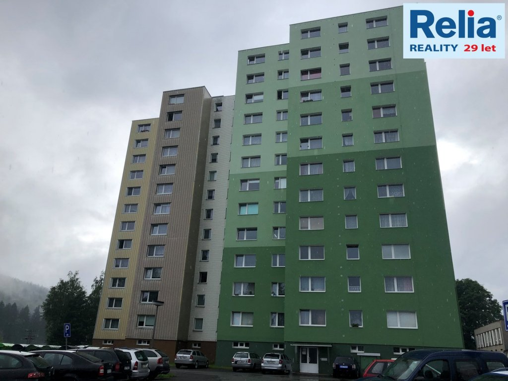 Pronájem útulného bytu 1+1 v Tanvaldu - ul. Horská