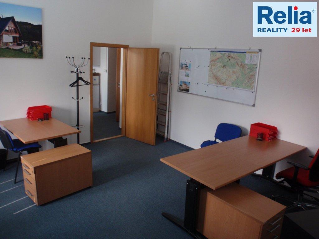 Pronájem, Kanceláře, 77 m2 - Soukenné nám., Liberec III-Jeřáb